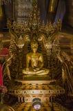 Le Bouddha d'or Photo libre de droits