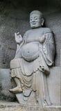 Le Bouddha en montagne de lingyun dans Sichuan, porcelaine Image stock