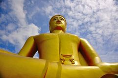 Le Bouddha en Thaïlande Photo libre de droits