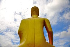 Le Bouddha en Thaïlande Images libres de droits