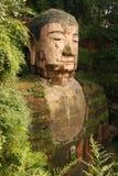 Le Bouddha grand chez Le Shan Image stock