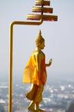 Le Bouddha Thaïlande d'isolement par statut Image stock