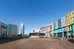 Le boulevard d'arène près de l'arène d'Amsterdam Image libre de droits
