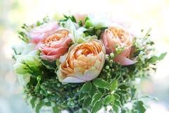 Le bouquet de la belle mariée Images libres de droits