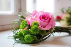 Le bouquet de la belle mariée Photo libre de droits