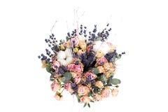 Le bouquet de la belle mariée Photos stock