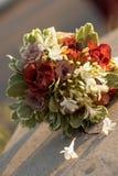 Le bouquet de la mariée. Image stock