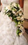 Le bouquet de la mariée Photographie stock libre de droits