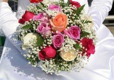 Le bouquet de la mariée Photo stock