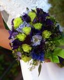 Le bouquet de la mariée Images stock