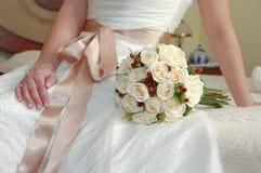 Le bouquet de la mariée Photos libres de droits