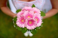 Le bouquet de la mariée Image stock