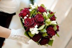 Le bouquet de la mariée Images libres de droits