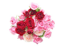 Le bouquet de s'est levé Photo stock