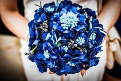 Le bouquet du ` s de jeune mariée Image stock