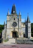 Le Bourg-Brun grisâtre : eglise Notre Dame image libre de droits