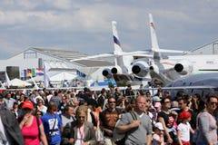 Le Bourget airshow 2009 Stock Fotografie