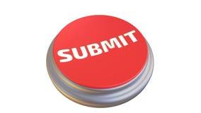 Le bouton avec le ` de mot SOUMETTENT le ` dans l'action illustration stock