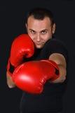Le boxeur Image libre de droits