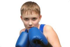 Le boxeur Images libres de droits