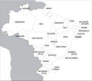 Le Brésil Photographie stock libre de droits