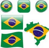 Le Brésil illustration stock