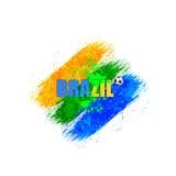Le Brésil Art Background 2014 Image stock