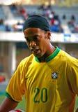 Le Brésil contre l'Algérie Photographie stock libre de droits