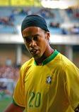 Le Brésil contre l'Algérie Images libres de droits