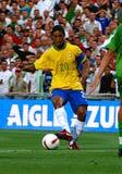 Le Brésil contre l'Algérie Image libre de droits