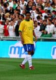 Le Brésil contre l'Algérie Photos stock