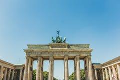 Le Brandenburger Tor Brandenburg Gate en Berlin Germany photos stock