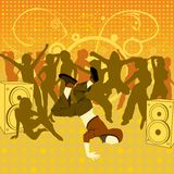 Le breakdancer Photos stock