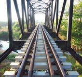Le brigde ferroviaire Image libre de droits