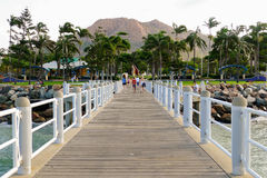 Le brin Townsville Photographie stock