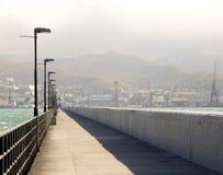 Le brise-lames dans Novorossiysk2 Photos stock