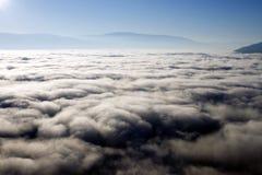 Le brouillard opacifie la Colombie-Britannique de Summerland Photos stock