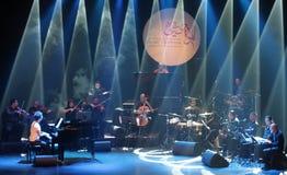 Le bruit Zade Dirani de piano exécute chez le Bahrain, 2/10/12 Images stock