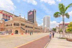 Le bâtiment de Sultan Abdul Samad, Kuala Lumpur, Malaisie Image libre de droits