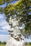 Le buda géant, temple bouddhiste, Foz font Iguacu, Brésil Photos libres de droits