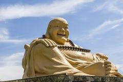 Le buda géant, temple bouddhiste, Foz font Iguacu, Brésil Image stock
