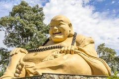 Le buda géant, temple bouddhiste, Foz font Iguacu, Brésil Images libres de droits