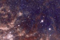 Le bugie di Doradus di regione 30 nella galassia della Grande Nube di Magellano Immagini Stock