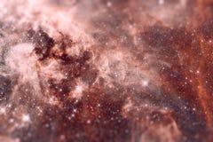 Le bugie di Doradus di regione 30 nella galassia della Grande Nube di Magellano Immagine Stock