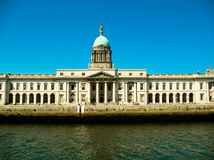 Le bureau de douane, Dublin Photographie stock