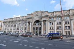 Le bureau de poste central à Minsk images stock