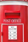 Le bureau de poste est communication pour la lettre Image libre de droits