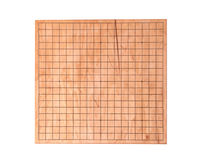 Le bureau en bois pour le boardgame disparaissent Photographie stock