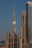 Le Burg Kahlifa, Dubaï Image libre de droits