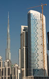 Le Burg Kahlifa, Dubaï Photographie stock